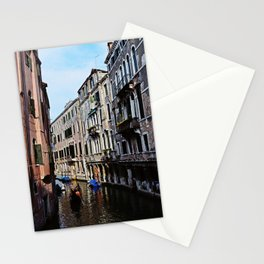 Venice the city of Canals Stationery Cards
