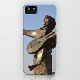 Lute Player Sculpture Stockholm iPhone Case