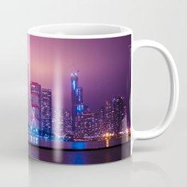 Purple Haze over Chicago Skyline Coffee Mug