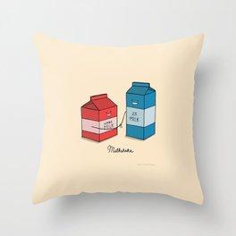Milkshake Throw Pillow