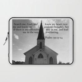 Church with a Prayer Laptop Sleeve