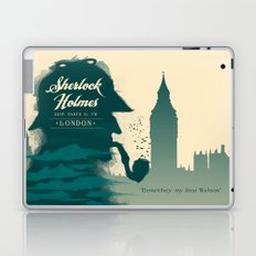 Elementary, my dear Watson. Laptop & iPad Skin