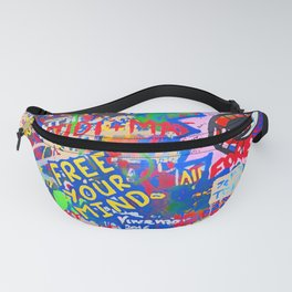 In the street No5, Messages Fanny Pack