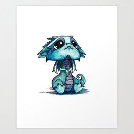 Baby Dragon Art Print