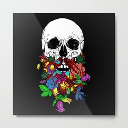 Beardtanical Metal Print