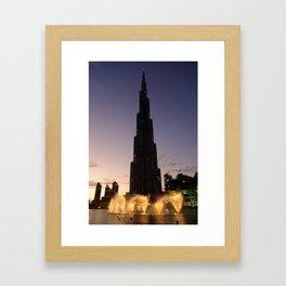 The Tallest Building Framed Art Print