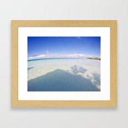 Boracay Sunshine blue Framed Art Print
