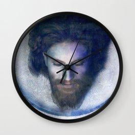 Fatale - John - Silver Wall Clock