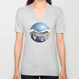 Blueberry Sky Unisex V-Neck