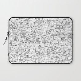Physics Equations on Whiteboard Laptop Sleeve