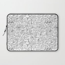 Physics Equations on Whiteboard Laptop Sleeve