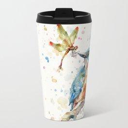 Interesting Relationships (Kingfisher & Dragonfly) Travel Mug