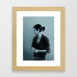 Cold Hand, Warm Heart Framed Art Print