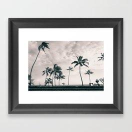 Hawaii Surf Commute Framed Art Print