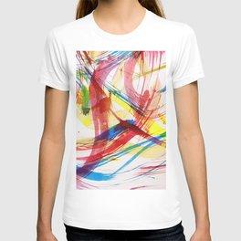 Dancing colors 2 T-shirt