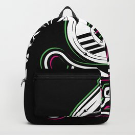 Turbo Glitch Effect - Gift for Tuner Backpack