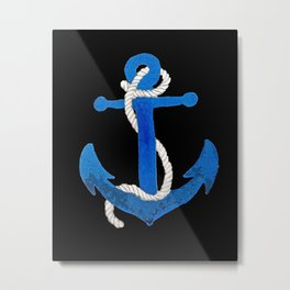You Anchor Me Metal Print