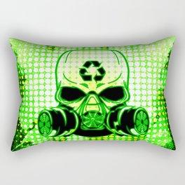 Earth Day Guerrilla Warrior Rectangular Pillow