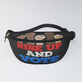 Rise Up And Vote Vintage Fanny Pack