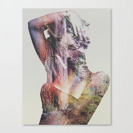 Wilderness Heart I Canvas Print