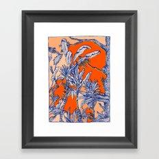 Plants again Framed Art Print