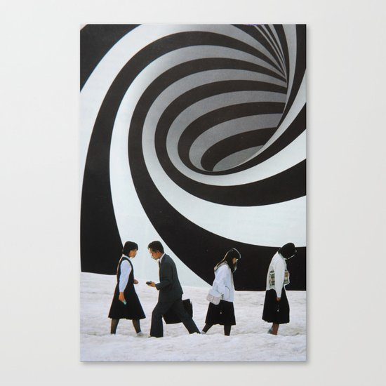 Back and Forth Canvas Print