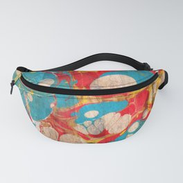 Abstract Painting ; Aurora Fanny Pack