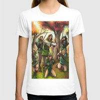 robin hood T-shirts featuring Robin Hood and his Merry Women by Eco Comics