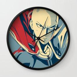 Saitama - Hero Wall Clock
