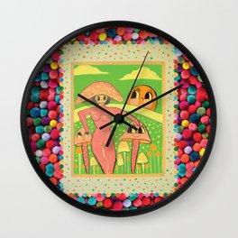 Mother Mushroom Wall Clock