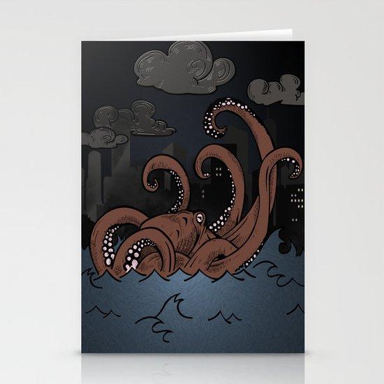 Octopi Movement  Stationery Cards