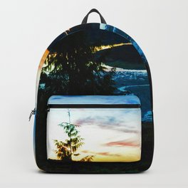 Sunrise in Ucluelet on Vancouver Island, BC Backpack