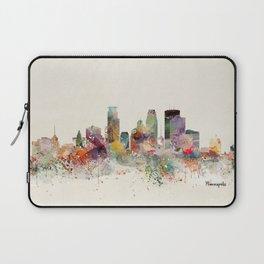 minneapolis minnesota skyline Laptop Sleeve