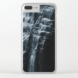 Middle Letchworth Falls Clear iPhone Case