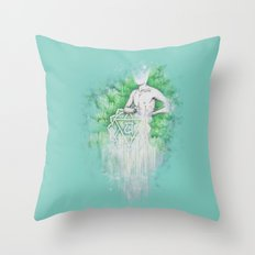 Love as Pain - Anahata in the heart Throw Pillow