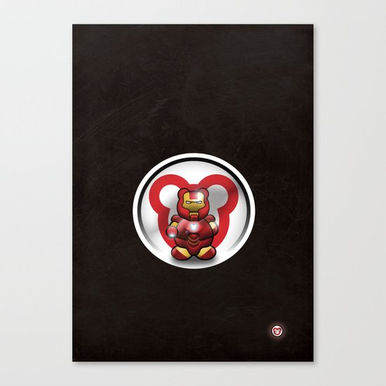 Super Bears - the Invincible One Canvas Print