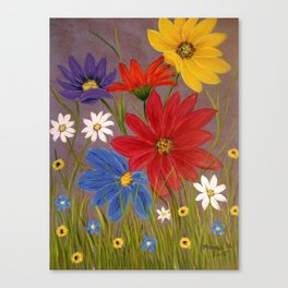 Wildflower-2 Canvas Print