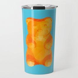 Gummy Bear Polygon Art Travel Mug
