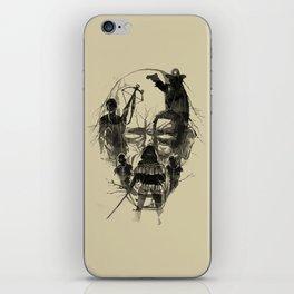 Dead Walker iPhone Skin