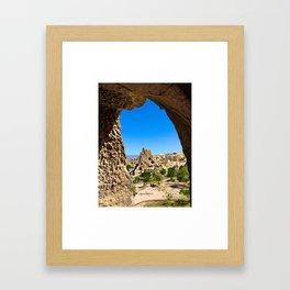 Kapadokya  Framed Art Print