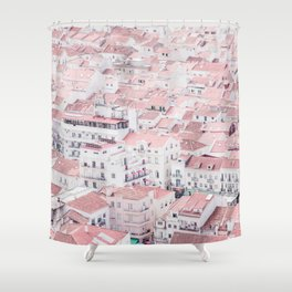 Urban View Shower Curtain