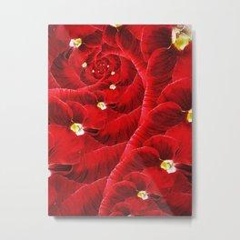 Floral Vortex. Metal Print