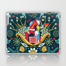 Technological folk art Laptop & iPad Skin