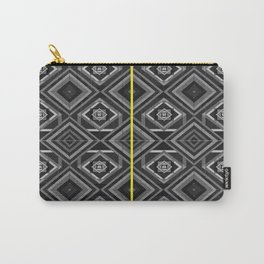 """""""Fade into grey with yellow' by Richard Schemmerer Carry-All Pouch"""
