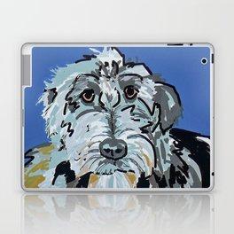 Irish Wolfhound Dog Portrait Laptop & iPad Skin