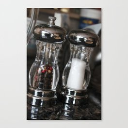 Salt And Pepper Forever Canvas Print