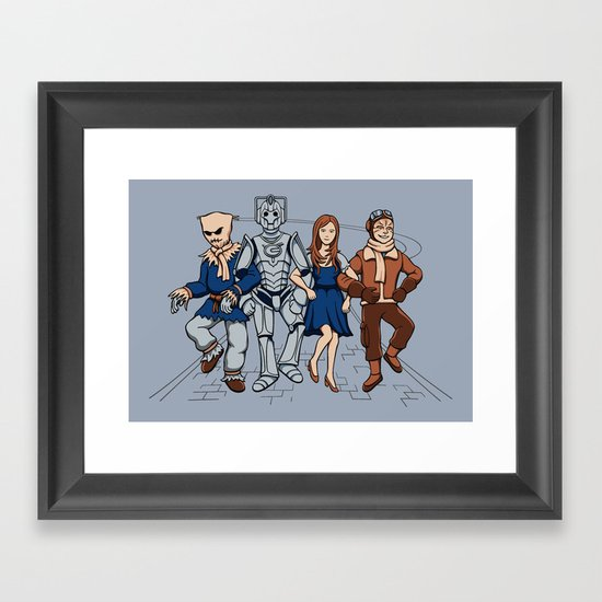 Wizard of Who Framed Art Print