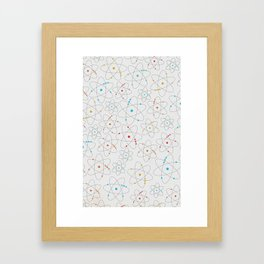 Science Lover Framed Art Print