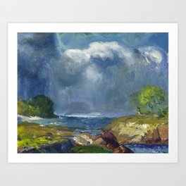 George Bellows - The Coming Storm, 1916 Art Print