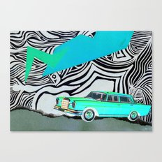 Drive my car Canvas Print